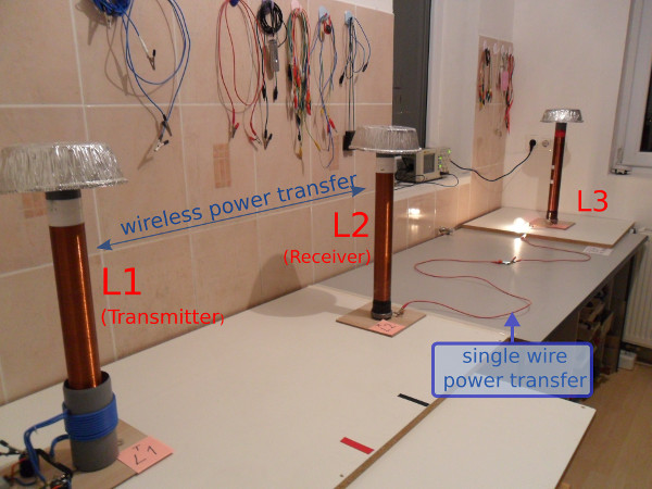 3CT (Three-Coil Power Transfer) - wireless power transfer - wireless electricity